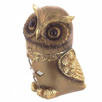 Фигурка декоративная сова, l7w7h11см