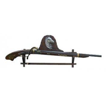 Коллаж настенный ружьё 98*33см 31638