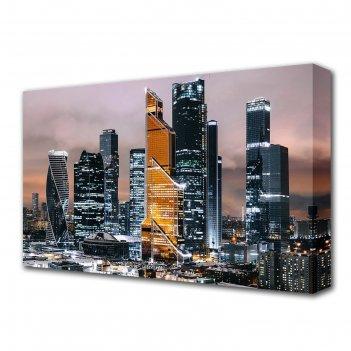 Картина на холсте блеск небоскребов