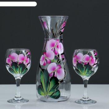 Набор для вина орхидея 1290/290 мл