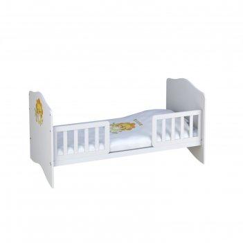Комплект боковых ограждений для кровати polini kids simple/basic 140 х 70,