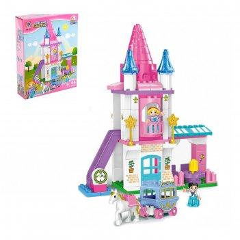 Конструктор замок принцессы, 86 деталей