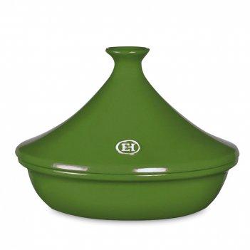 Тажин ii, объем: 2 л, материал: керамика, цвет: зеленый, emile henry, фран