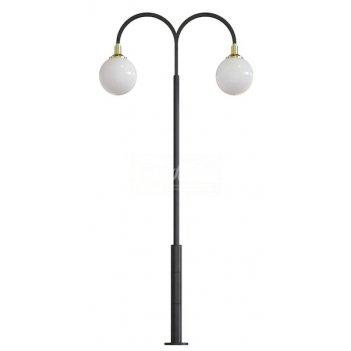 Стальной фонарный столб т-06-2 2,5 м.