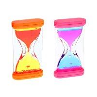 Часы песочные с жидкостью стайл, цвета микс
