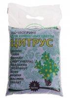 Почвогрунт для комнатных цветов 3 л (1,8 кг) цитрус