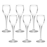 Набор бокалов для ликера 6 шт 55 мл monte carlo