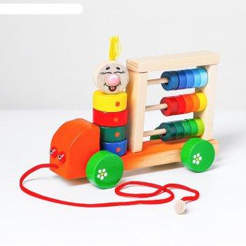 Логическая игрушка автомобиль палитра