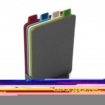 Набор разделочных досок joseph joseph index mini, графит