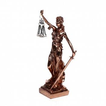 Статуэтка греческая богиня правосудия - фемида 30см