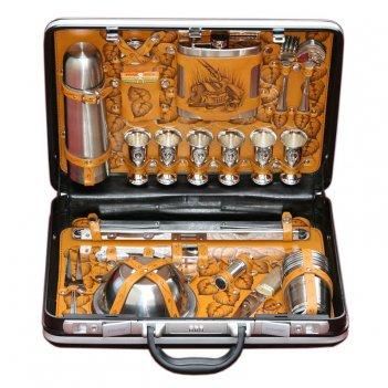 108кп6 кейс для пикника подарочный «охотник» (6персон)