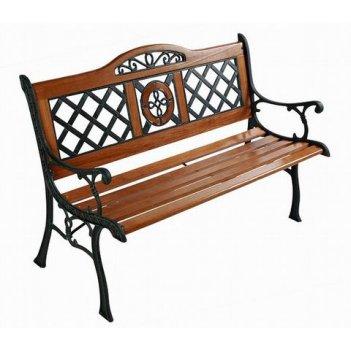 Чугунная садовая скамейка «венеция»