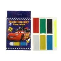 Пластилин 6 цветов cars