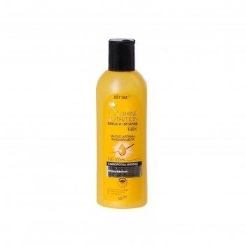 Сыворотка-флюид для волос bitэкс блеск и питание, масло арганы+жидкий шёлк