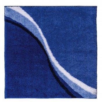 Коврик для ванной комнаты barney, цвет синий, 50х60 см