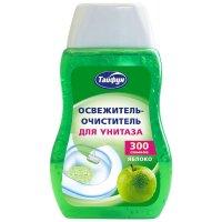 Тайфун освежитель-очиститель для унитаза тайфун, аромат яблоко, 200 мл