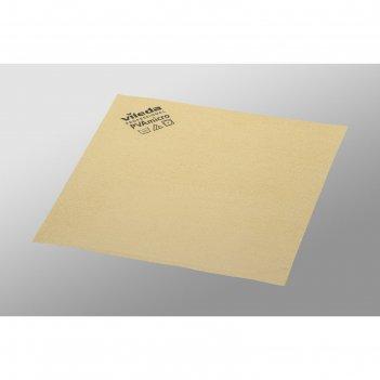 Салфетка для профессиональной уборки pva micro 38х35 см, цвет желтый