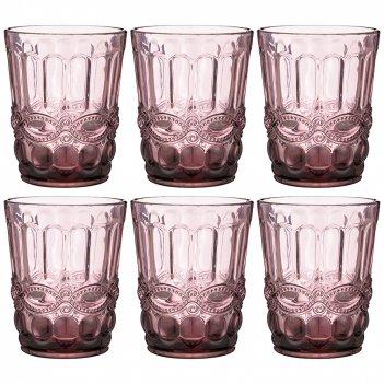 Набор стаканов серпентина из 6шт. 270мл. серия muza color высота=10 см (ко
