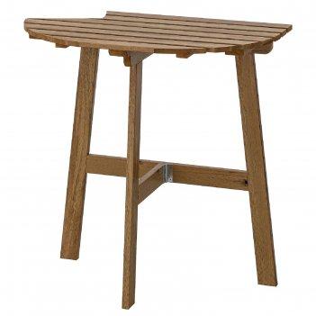 Пристенный стол складной аскхольмен, цвет светло-коричневая морилка