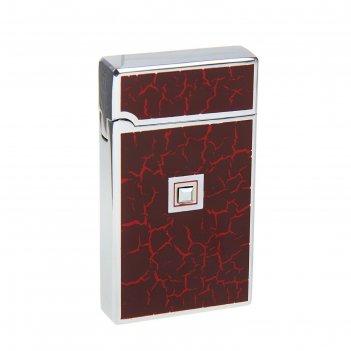 Зажигалка подарочная в картонной коробке магма сенсор, газ