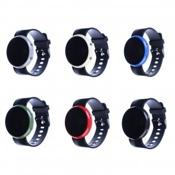 Часы наручные латуви, электронные, с силиконовым ремешком, микс, 23 см