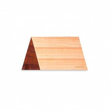 Доска разделочная, размер: 32,5 х 16,5 см, материал: каучуковое дерево, ак
