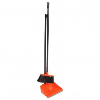 Набор для уборки помещений ленивка, цвет оранжевый