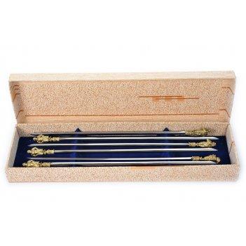 Шампура семейка (6 шт.) в подарочной коробке