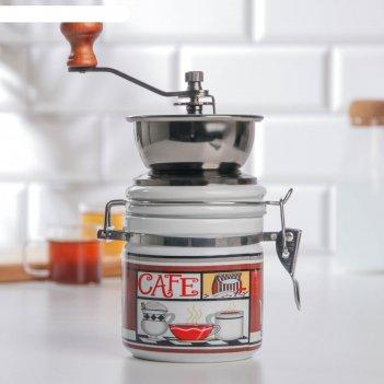 Кофемолка «латте», керамический механизм