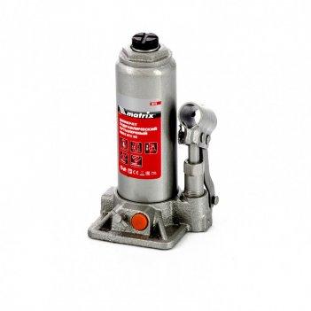 Домкрат гидравлический бутылочный, 4 т, h подъема 194-372 мм, в пластиково