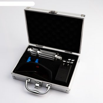 Лазерная указка,  акк 16340 2 шт, 1200мач, 450 нм; 50000 mw, дальность 5 к