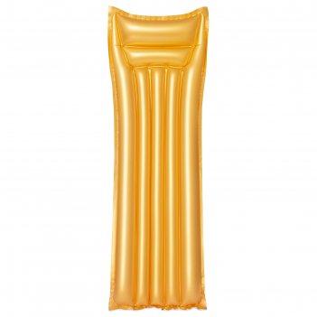 Матрас для плавания «золото» 183х69 см