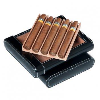 Футляр для 5-ти сигар, арт. afn-cc106 от aficionado, испания