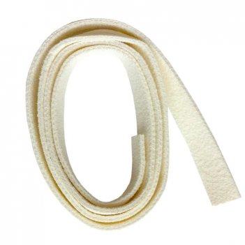 Браслет из искусственной кожи (белый) pebeo