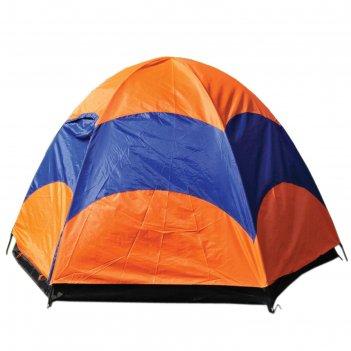 Палатка туристическая wildman™ «калифорния», 5-ти местная, двухслойная, 24