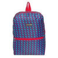 Рюкзак молодежный на молнии, 1 отделение, 1 наружный карман, розовый/голуб