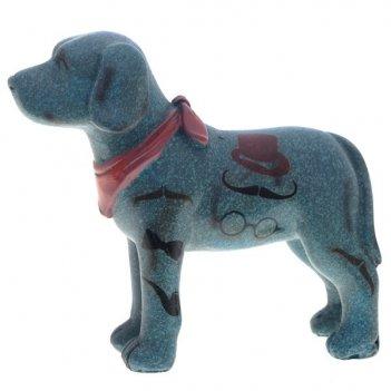 Декоративная  фигурка собака, l 11, w 4,5, h 10 см