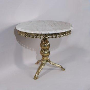 Стол с мраморной столешницей редонда (bp-50204-d)