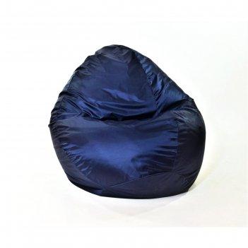 Кресло-мешок «макси», диаметр 100 см, высота 150 см, цвет чёрный