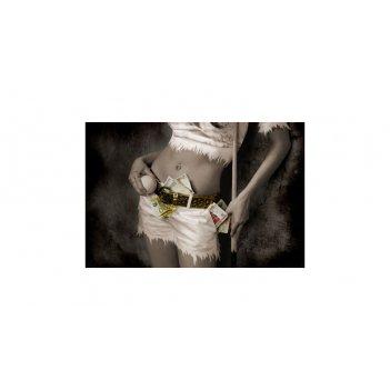 Постер snb07010 (700х500 мм) - девичьи игры на бильярде
