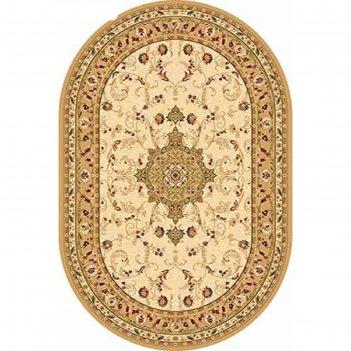 Овальный ковёр valencia d115, 250 х 500 см, цвет cream