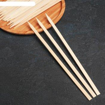 Набор шампуров 30 см 20 шт