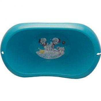 Детская ванночка дисней 101 далматинец 2589-д бирюзовая