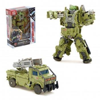 Робот военный, трансформируется