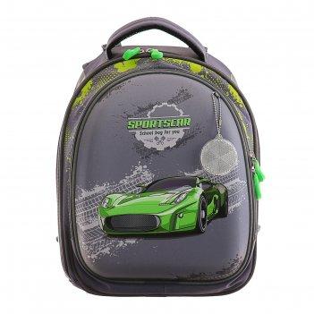 Рюкзак каркас luris 37*28*19 колибри 3 мал. авто зеленое