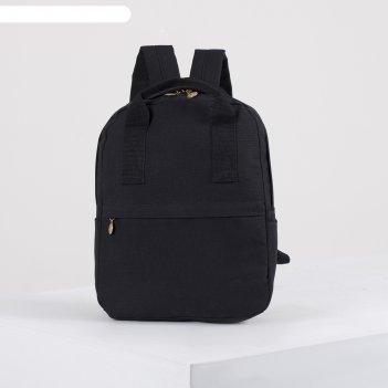Рюкзак-сумка натали, 26*10*33, отд на молнии, 2 н/кармана, черный
