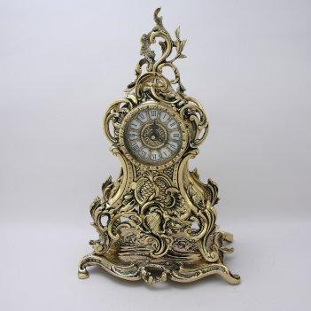 Часы каминные долфин (bp-27089-d)
