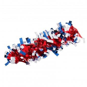 Карнавальный браслет фантазия красно-синий