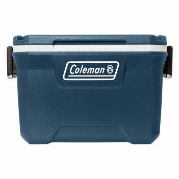 Контейнер изотермический coleman 52 qt тёмно-синий с белым (49 л)