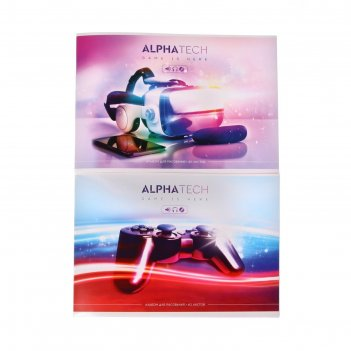 Альбом д/рис а4 40л на скрепке увлечения обл мел карт, бл офс, 2вид микс а